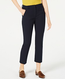 Weekend Max Mara Alcide Straight-Leg Pants