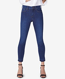 Ami Tummy-Control Released Hem Skinny Jeans