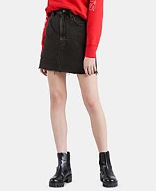 Women's Iconic Cotton Denim Mini Skirt