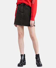 Levi's® Iconic Cotton Denim Mini Skirt