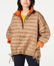 Weekend Max Mara Pullover Long Quilted Puffer Jacket