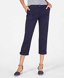 Utility-Pocket Capri Pants, Created for Macy's