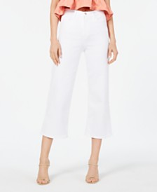 Flying Monkey Cropped High-Rise Wide-Leg Jeans