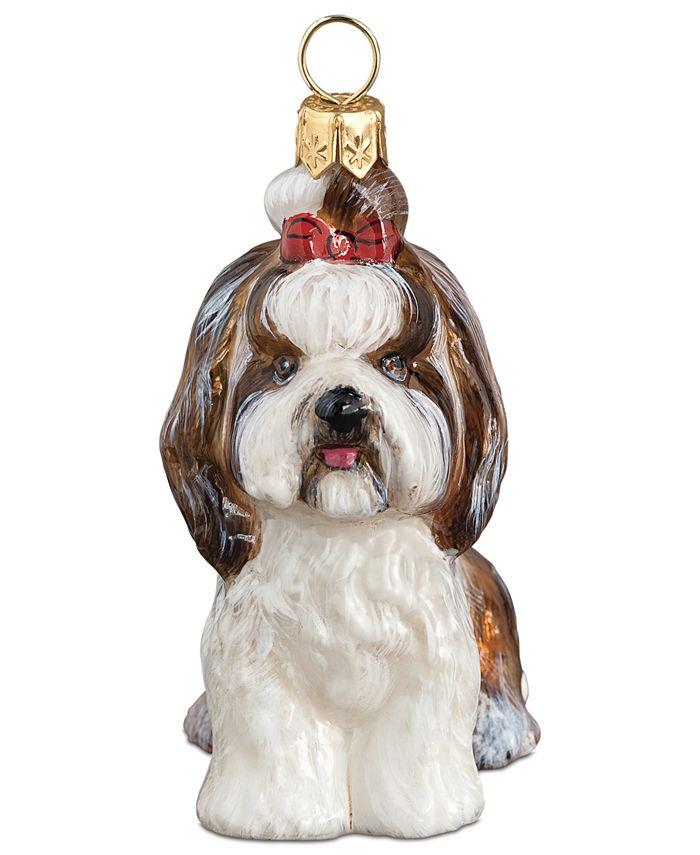 Joy to the World - Shih Tzu Christmas Ornament