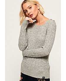 Croyde Cable Knit Jumper