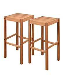 2 Piece Patio Barstool Set