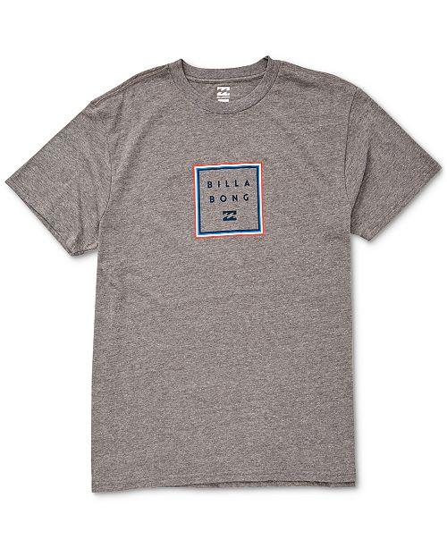 Billabong Men's Stacker Logo T-Shirt