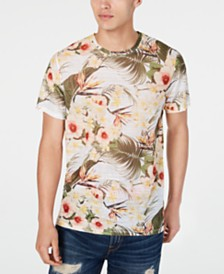 GUESS Men's Wynn Summer Paradise Graphic T-Shirt