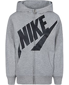 Nike Toddler Boys Futura Modern-Fit French Terry Full-Zip Logo Hoodie