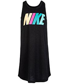 Nike Little Girls Logo Tank Dress
