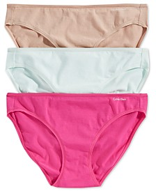 Calvin Klein Bikini, 3-Pack