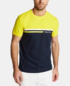 Nautica Men's Logo Stripe T-Shirt, Created for Macy's