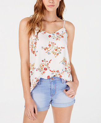 Juniors' V Neck Sleeveless Top by General