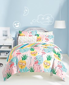 Dream Factory Pineapple 7-Pc. Bed-in-a-Bags