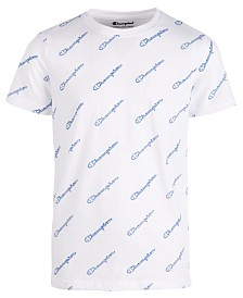 Champion Toddler Boys Script Logo T-Shirt
