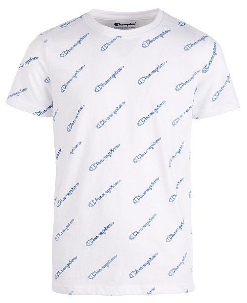Champion Little Boys Script Logo T-Shirt