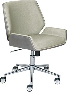 Elle Decor Ophelia Bentwood Task Chair, Quick Ship