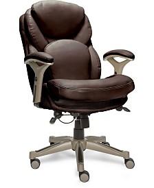 Serta Ergonomic Executive Office Chair, Quick Ship