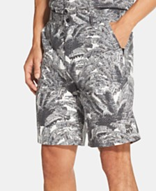 "DKNY Men's Palm-Print 9"" Shorts"