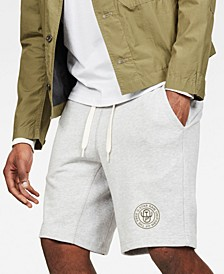 Men's Bolt Regular-Fit Heathered Logo Sweatshorts