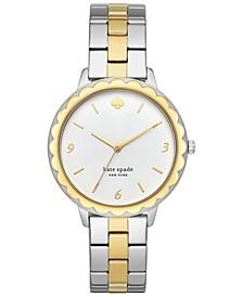Women's Morningside Two-Tone Stainless Steel Bracelet Watch 38mm