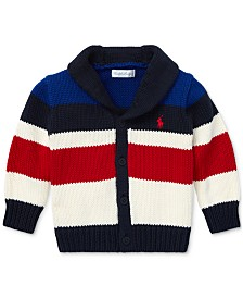 Polo Ralph Lauren Baby Boys Striped Shawl Cardigan