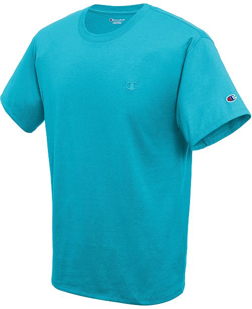 ccab7fbd Champion Men's Cotton Jersey T-Shirt; Champion Men's Cotton Jersey T- ...