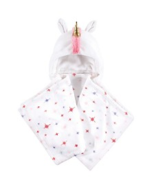 Hudson Baby One Size Hooded Plush Blanket