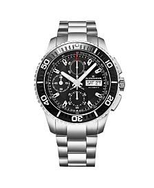 Alexander Watch A420-01, Stainless Steel Case on Link Bracelet