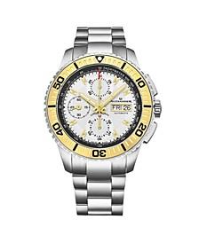 Alexander Watch A420-03, Stainless Steel Case on Link Bracelet