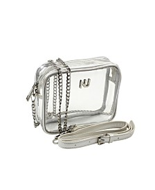 NU Women Taylor Cross Body Clear Purse