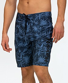Men's Spray Palms Board Shorts