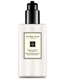 Jo Malone London English Pear & Freesia Body & Hand Lotion, 8.5-oz.