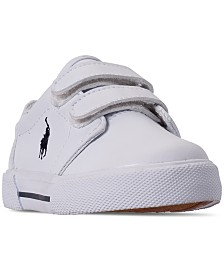 Polo Ralph Lauren Toddler Boys' Hugo II EZ Casual Sneakers from Finish Line