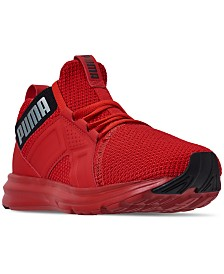 Puma Boys' Enzo Weave Jr. Training Sneakers from Finish Line