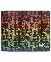 5f3d6a75569e Michael Kors Men's Jet Set Logo-Print Wallet