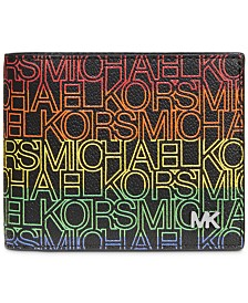 Michael Kors Men's Jet Set Logo-Print Wallet