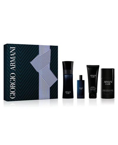 Giorgio Armani Men's 4-Pc. Armani Code Eau de Toilette Gift Set