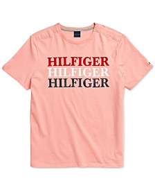 Tommy Hilfiger Adaptive Men's  Cabrera T-Shirt with Magnetic Closures