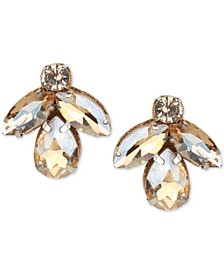 Crystal Cluster Stud Earrings