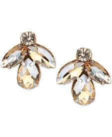 Deepa Crystal Cluster Stud Earrings