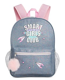 FAB Little & Big Girls Smart Girls Club Backpack
