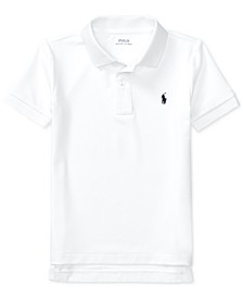 Little Boys Moisture-wicking Tech Jersey Polo Shirt