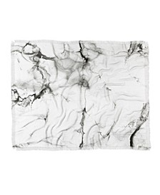 Chelsea Victoria Marble Woven Throw Blanket