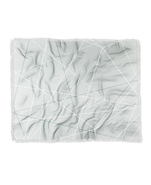 Deny Designs Mareike Boehmer Pastel Lines 2 Woven Throw Blanket