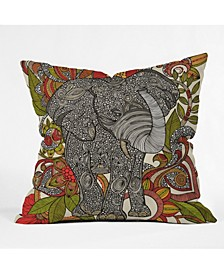Valentina Ramos Bo The Elephant Throw Pillow