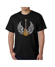 LA Pop Art Mens Word Art T-Shirt - Lyrics to Freebird
