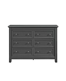 Milli 6-Drawer Dresser with Topper
