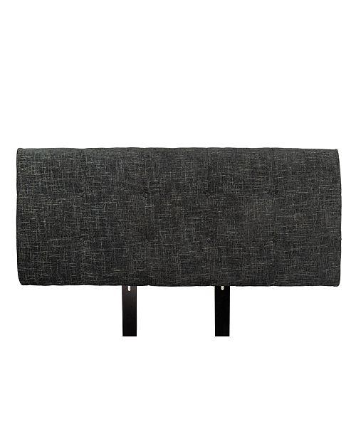 MJL Furniture Designs Ali Button Tufted Upholstered Twin Headboard