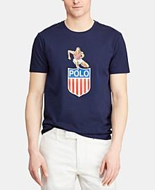 Men's Big & Tall Classic-Fit Chariots Graphic T-Shirt